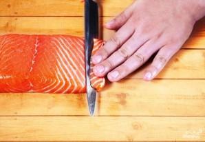 Суши с лососем - фото шаг 2