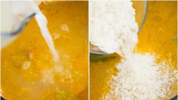 Курица с рисом и морковью - фото шаг 4