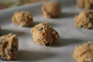 Традиционное шоколадное печенье с орехами - фото шаг 3