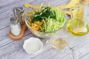 Витаминный салат из свежих овощей - фото шаг 5