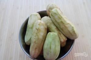 Салат с баклажанами (заготовки на зиму) - фото шаг 1