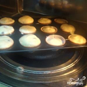 Банановые кексы в микроволновке - фото шаг 11