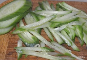 Салат из ветчины и сыра - фото шаг 3