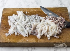 Рис с морепродуктами - фото шаг 6