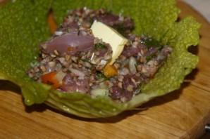 Голубцы с гречкой и мясом - фото шаг 7
