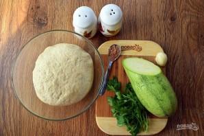 Вегетарианские пельмени с кабачками - фото шаг 2