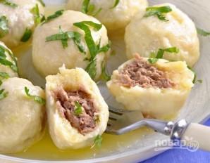Картофельно-сырные ньокки, фаршированные мясом - фото шаг 7
