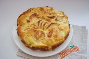 Яблочный пирог с вкуснейшей заливкой - фото шаг 7