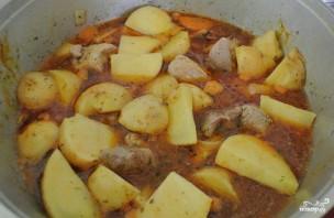 Жаркое со свининой и картошкой - фото шаг 6