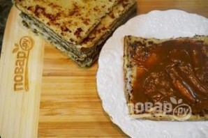 Курский блинный торт - фото шаг 5