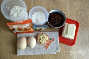 Кексы пасхальные с клюквой - фото шаг 1
