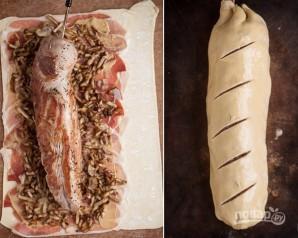 "Мясо ""Веллингтон"" со свининой - фото шаг 3"