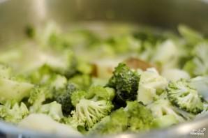 Сырный суп-пюре с брокколи - фото шаг 6