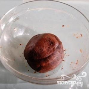 Шоколадное тесто - фото шаг 5