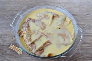 Блинный пирог с курицей и грибами - фото шаг 19