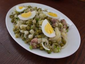 Салат из печени трески (консервированной) - фото шаг 6