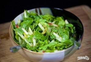 Салат из зелени - фото шаг 7