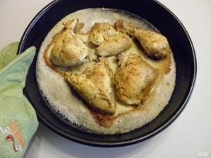 Курица на соли кусочками - фото шаг 4