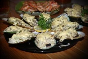 Мидии в сливочно-чесночном соусе - фото шаг 8