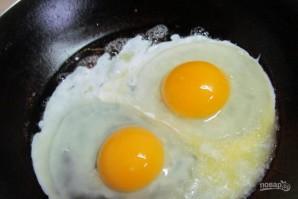 Лепешка с яйцом на завтрак - фото шаг 4
