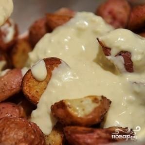 Испанский салат из запеченного картофеля - фото шаг 6