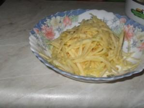 Салат с горбушей отварной - фото шаг 3