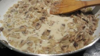 Жульен с грибами классический - фото шаг 5