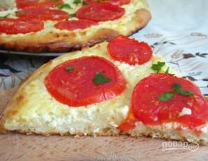 Деревенская пицца с творогом - фото шаг 7