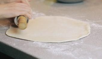 Вегетарианское тесто для пиццы - фото шаг 4