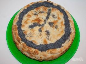 Пасхальный пирог со шпинатом и рикоттой - фото шаг 5