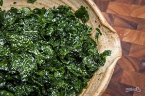 Салат с пармезаном - фото шаг 4