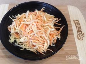 Салат из жареного корневого сельдерея - фото шаг 8