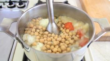 Суп-пюре из нута и цветной капусты - фото шаг 6