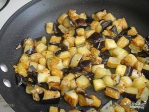 Салат из баклажанов с чесноком - фото шаг 6