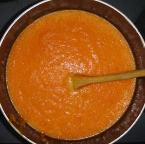 Морковный крем-суп с зеленью - фото шаг 5