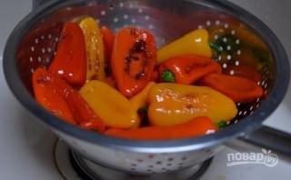 Маринованный болгарский перец с чесноком - фото шаг 2