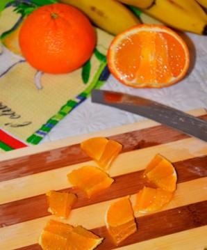 Десерт со взбитыми сливками и фруктами - фото шаг 6