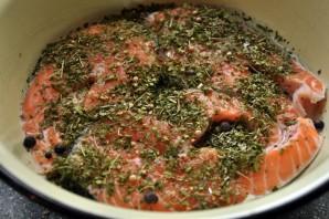 Cтейк из рыбы в духовке - фото шаг 3