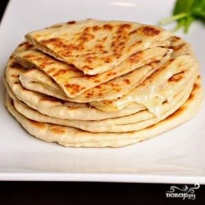 Мгновенный хачапури на сковороде - фото шаг 10