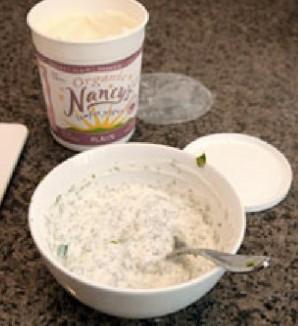 Сладкий картофель с йогуртом и кориандром - фото шаг 1