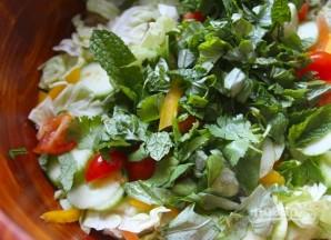 Салат из говядины - фото шаг 7