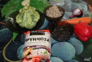 Фунчоза с брокколи - фото шаг 2