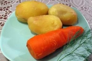 Салат из отварных овощей - фото шаг 2