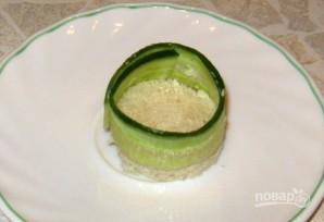 Закуска из крабового мяса с огурцом - фото шаг 4