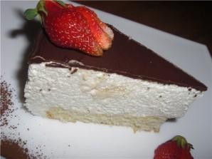 "Торт ""Птичье молоко"" на желатине - фото шаг 5"
