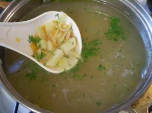 Рыбный суп с вермишелью - фото шаг 6