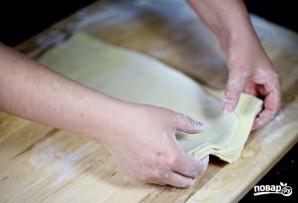 Слоеное тесто на самсу - фото шаг 11