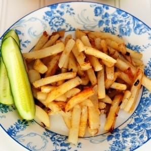 Картофель жареный - фото шаг 15