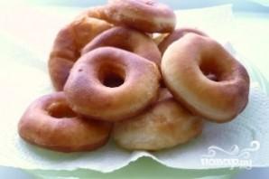 Пончики на дрожжах жареные - фото шаг 9