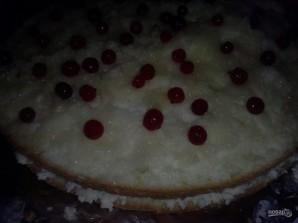 Большой бисквитный торт с безе - фото шаг 12